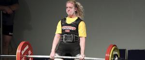 Josephine Werngren tog brons i EM. FOTO: LENNART LJUNG
