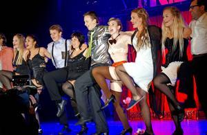 Borlänge Musikteater är en av få amatörteatrar som fått rätten att sätta upp Cabaret.