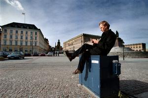 20. Strategen. Rikspolitikern Wåhlstedt efter valet 2002.