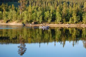 fiskeresa 2009 i paradiset juktådalen Lappland