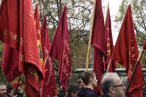 Dagen då socialdemokrater demonstrerar mot sig själva
