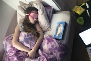 I Dalarna är glappet mellan kvinnor och män störst i Orsa och minst i Rättvik när det gäller uttag av nettodagar gällande VAB, vård av sjukt barn. OBS: Bilden är arrangerad.