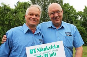Pär Windahl och Ulf Berg hoppas på fint väder och mycket folk