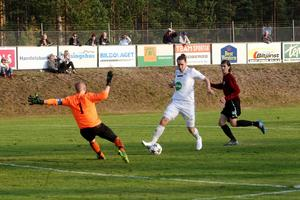 Nermin Celjo kämpar med en fotskada men blir troligtvis kvar i Söderhamn säsongen ut.