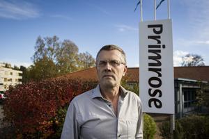 """Sten–Göran """"Stenis"""" Andersson, vd för Primrose."""