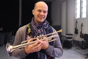 Thomas SKöldborn är en av lärarna på Kulturskolan i Bollnäs.