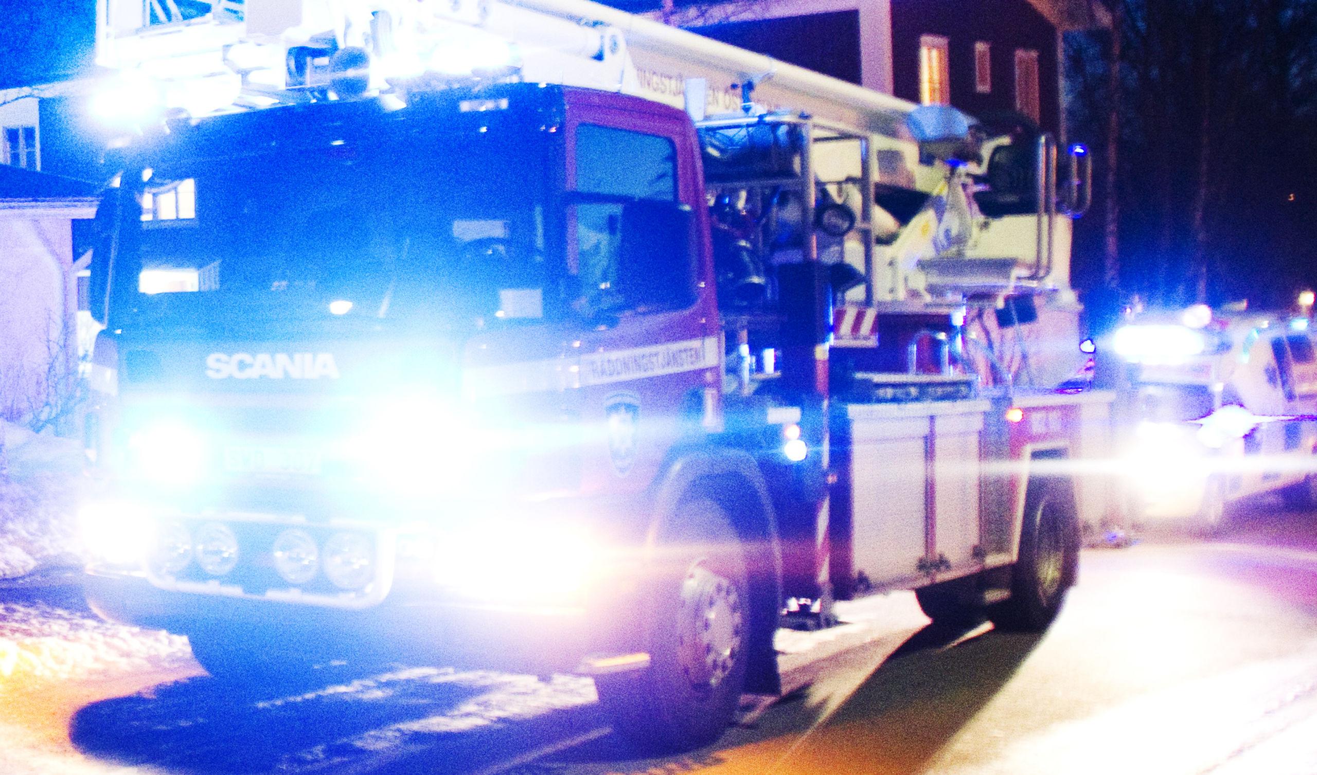 Brandvarnare raddade fem i villa