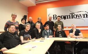 Juryn för Dalecarlia Music Awards. På torsdagen presenterade de nominerade till galan den 21 februari. Foto: Jonas Stentäpp