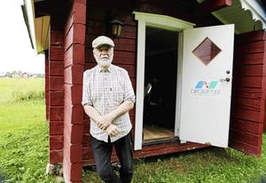 Gunnar Ekberg startade företaget med en minimal yta i en friggebod. Nu har han nästan 100 gånger så mycket plats.