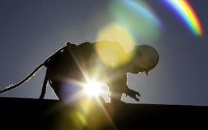 Unga människor i traditionella arbetaryrken definierar sig som medelklass. FOTO: AP Photo/Gerry Broome/Scanpix
