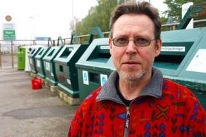 Rommy Stenvall i Sveg tycker det verkar stämma att härjedalingar är duktiga på återvinning.