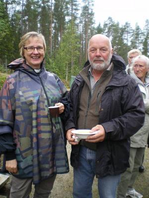 Tuulikki Koivonen Bylund och Staffan Grahnlöf.