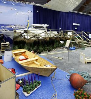 Båtar och sjöfart har en egen avdelning.