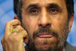 Irans president Mahmoud Ahmadinejad utmanade och förfärade. Foto: LAURENT GILLIERON