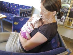 – Vi ville ha ett gemensamt barn. Det var lite nu eller aldrig, säger Sara Eriksson.