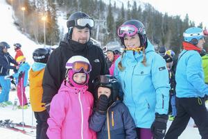 Familjen Egerstad hade provat liften och de gav den bra betyg.