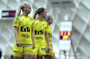 Victoria Forss och Frida Pickles – två av Ljusdals profilspelare den här säsongen.