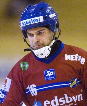 Edsbyns lagkapten Magnus Olsson fokuserar helt på onsdagens match mot Västerås.