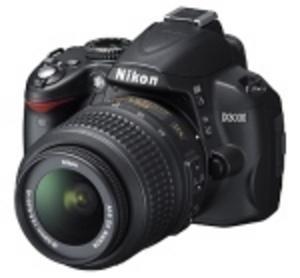 Nikon D3000 guidar novisen rätt