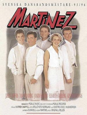 Martinez från 1995, då de blev svenska dansbandsmästare - Elisabeth