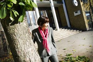 Polhemsskolans rektor Inga Bostrand.