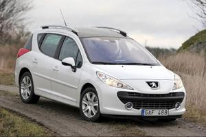 Konkurrent: Peugeot 207 SW 1,4 VTi140 990 kronor. 95 hästkrafter.Fransk bästsäljare med charm.