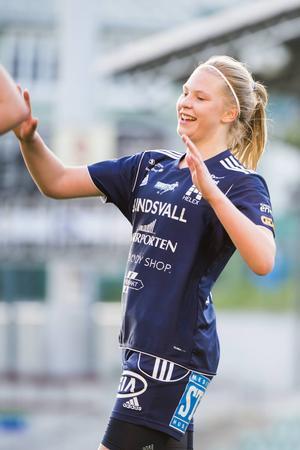 Ellen Löfqvist kan ha gjort sin sista match i SDFF-tröjan för den här gången.