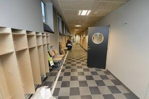 De nya korridor.