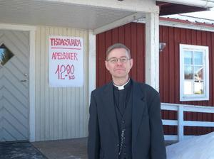 Finnmarksprästen Carl Johan Rudman besöker Bingsjö så ofta han kan. Foto: Per Malmberg/DT