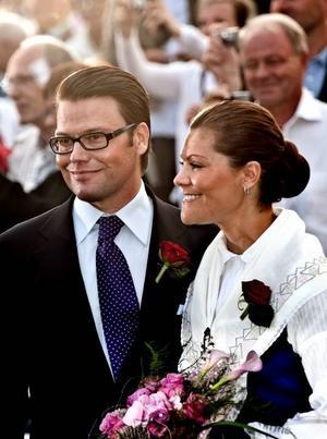 Daniel och Victoria vid en annan högtid, kronprinsessans födelsedag.