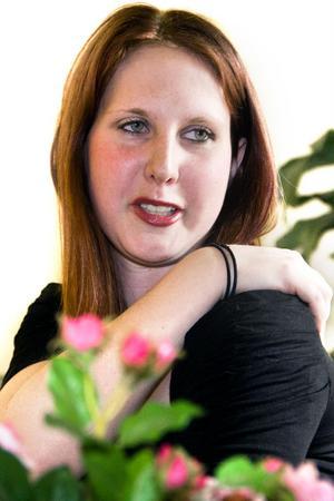 Danslärarinnan Jessica Lindell tycker att hon har jätteduktiga elever.