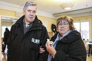 Gun-Britt Persson med svågern Leif Frånlund från Härnösand.
