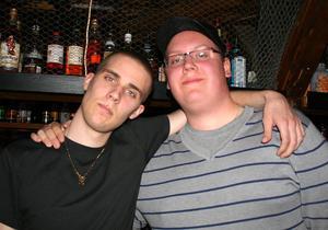 Konrad. Christopher och Jonas