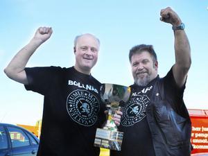 I ett år får Per Andersson och Janne Sandström beundra vandringspriset för segern i klassen special-öl i SM i hembryggning. Om två veckor ska de tävla med sitt Bäckvägen Barley i Skandinaviska mästerskapen.
