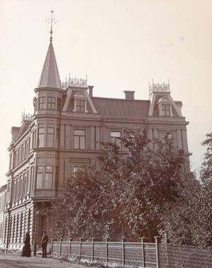 Jämtlandsposten stod där ÖP står i dag och det var uppe i tornet som Wickström tog sitt liv.