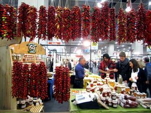 Men i Turin fanns ridåer av chili.