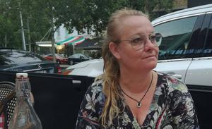 Svenskan Lena Henriksson  befann sig endast ett kvarter från olycksplatsen.