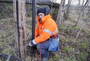 Under söndagen var Pär Hanssons och hans kollegors uppdrag att få telefon- och bredbandsförbindelserna i länet att fungera provisoriskt.
