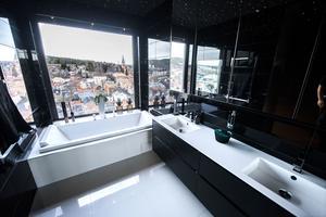 Varför inte njuta av utsikten medan du tar ett bad?