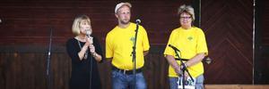 Landshövding Barbro Holmberg invigde Moläta på måndagen. Talade gjorde även Monica Svedberg och Jan-Olov Hansson, ordförande respektive vice ordförande i Lantbrukarnas riksförbund i Järvsö.