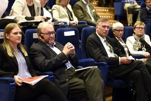 Förre statsministern Göran Persson medverkar vid bioekonomiriksdagen i egenskap av ordförande för den europeiska tankesmedjan Think Forest.