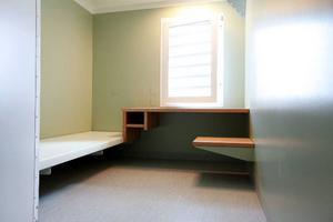 Den nya arrestavdelningen har 16 platser, det är lika många platser som i dag.