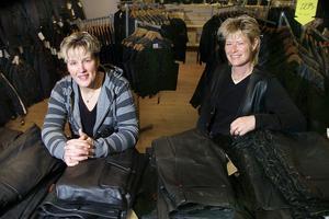 Helena Nordin och Catrin Eliasson hoppade av sina tidigare jobb för att starta butiken Heca år 2007.