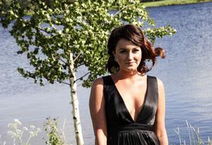 Jennifer Larsson som till hösten ska studera i Stockholm