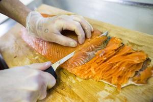 En vass kniv är a och o i köket.
