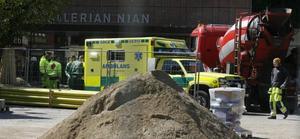 Olyckan på Stortorget kunde ha fått en mycket allvarlig utgång men den 74-åriga kvinnan klarade sig utan svårare skador.