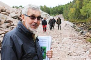 För Bror Österman är restaureringen av bäcken en dröm som gått i uppfyllelse.