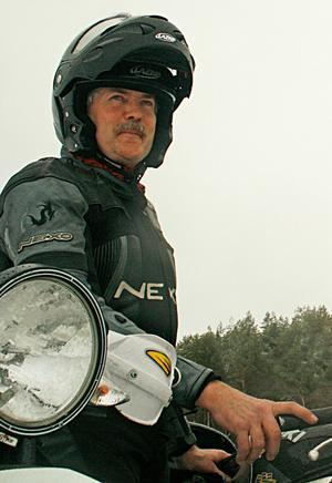 Kalevi Brandhed belönas för sitt stora engagemang för motorsporten.