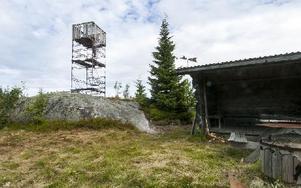 Spjärshällens enslighet erbjuder i alla fall en rastplats med vindskydd och grillplats. Foto: Mikael Forslund