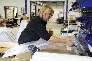 Elisabeth Röjd började jobba för Metallprodukter, eller Stigs mekaniska som företaget hette då, för snart 40 år sedan.
